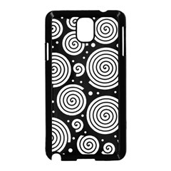 Black and white hypnoses Samsung Galaxy Note 3 Neo Hardshell Case (Black)