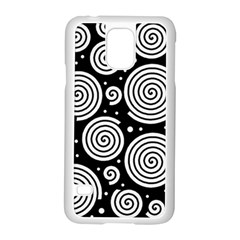 Black and white hypnoses Samsung Galaxy S5 Case (White)