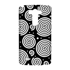 Black and white hypnoses LG G3 Hardshell Case