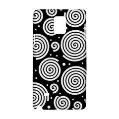 Black and white hypnoses Samsung Galaxy Note 4 Hardshell Case