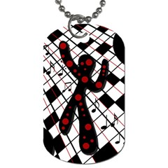 On the dance floor  Dog Tag (Two Sides)
