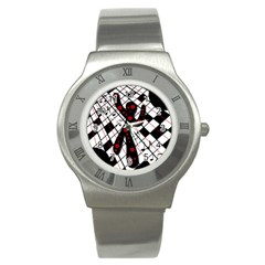 On the dance floor  Stainless Steel Watch