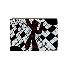 On the dance floor  Cosmetic Bag (Medium)