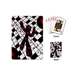 On the dance floor  Playing Cards (Mini)