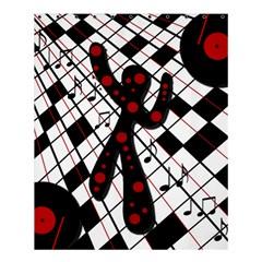 On the dance floor  Shower Curtain 60  x 72  (Medium)