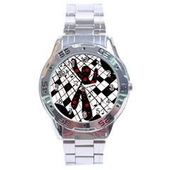 On the dance floor  Stainless Steel Analogue Watch