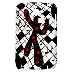 On the dance floor  Samsung S3350 Hardshell Case