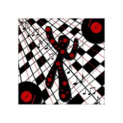 On the dance floor  Acrylic Tangram Puzzle (4  x 4 )
