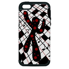 On the dance floor  Apple iPhone 5 Hardshell Case (PC+Silicone)