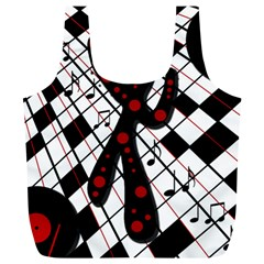 On the dance floor  Full Print Recycle Bags (L)