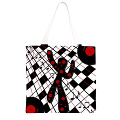 On the dance floor  Grocery Light Tote Bag