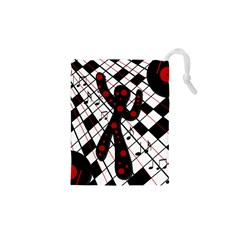 On the dance floor  Drawstring Pouches (XS)