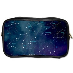 Constellations Travel Toiletry Bag (one Side)