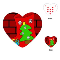 Christmas sock Playing Cards (Heart)