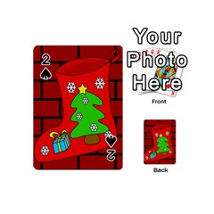 Christmas sock Playing Cards 54 (Mini)