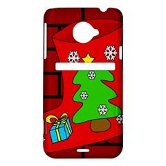 Christmas sock HTC Evo 4G LTE Hardshell Case