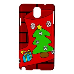 Christmas sock Samsung Galaxy Note 3 N9005 Hardshell Case