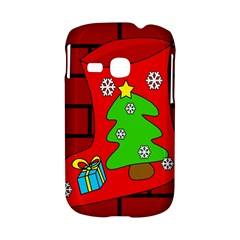 Christmas sock Samsung Galaxy S6310 Hardshell Case