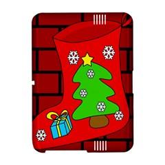Christmas sock Amazon Kindle Fire (2012) Hardshell Case