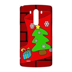 Christmas sock LG G3 Back Case