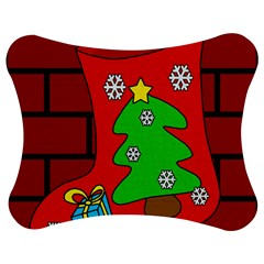 Christmas sock Jigsaw Puzzle Photo Stand (Bow)