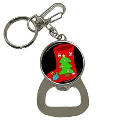 Christmas sock Bottle Opener Key Chains
