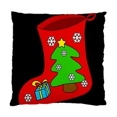 Christmas sock Standard Cushion Case (One Side)