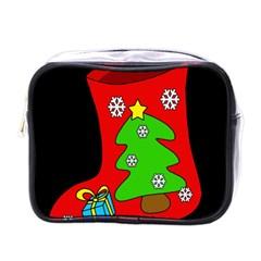 Christmas sock Mini Toiletries Bags