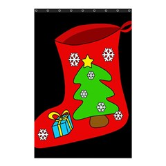 Christmas sock Shower Curtain 48  x 72  (Small)