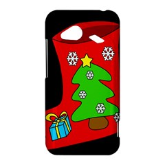 Christmas sock HTC Droid Incredible 4G LTE Hardshell Case