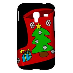 Christmas sock Samsung Galaxy Ace Plus S7500 Hardshell Case