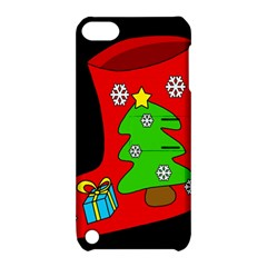 Christmas sock Apple iPod Touch 5 Hardshell Case with Stand