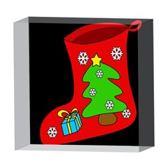 Christmas sock 5  x 5  Acrylic Photo Blocks