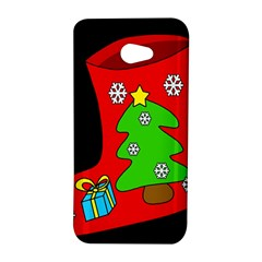 Christmas sock HTC Butterfly S/HTC 9060 Hardshell Case