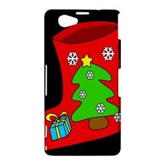Christmas sock Sony Xperia Z1 Compact