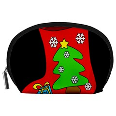 Christmas sock Accessory Pouches (Large)