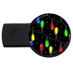 Christmas light USB Flash Drive Round (2 GB)
