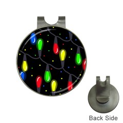 Christmas light Hat Clips with Golf Markers