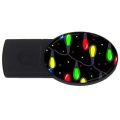 Christmas light USB Flash Drive Oval (4 GB)