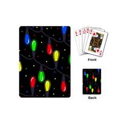 Christmas light Playing Cards (Mini)