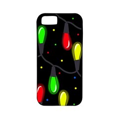 Christmas light Apple iPhone 5 Classic Hardshell Case (PC+Silicone)