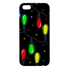 Christmas light Apple iPhone 5 Premium Hardshell Case