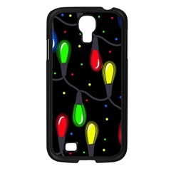 Christmas light Samsung Galaxy S4 I9500/ I9505 Case (Black)