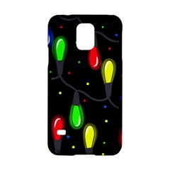Christmas light Samsung Galaxy S5 Hardshell Case