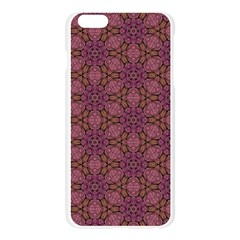 Fuchsia Abstract Shell Pattern Apple Seamless iPhone 6 Plus/6S Plus Case (Transparent)