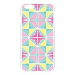 Pastel Block Tiles Pattern Apple Seamless iPhone 6 Plus/6S Plus Case (Transparent)