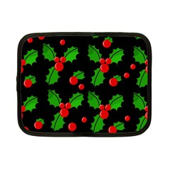 Christmas berries pattern  Netbook Case (Small)