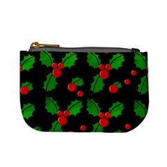 Christmas berries pattern  Mini Coin Purses