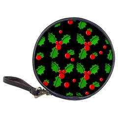 Christmas berries pattern  Classic 20-CD Wallets