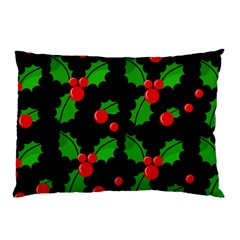 Christmas berries pattern  Pillow Case (Two Sides)